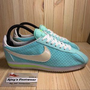 Nike CLASSIC CORTEZ BR Women's Blue Original Shoes